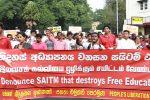 Massive crowd to denounce SAITM, the illegal medical institute