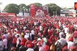 Massive crowds & foreign delegates at JVP May rally & demonstration