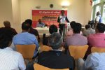 JVP addresses Sri Lankans in UK & Japan