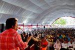 A sea of 'determined' citizens at Hambanthota