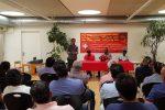 Com. Lal Kantha addresses Sri Lankans in Zurich