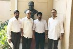 JVP Leader completes Indian tour with discussion with CPT (M)