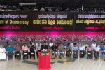 Intellectuals & artistes rally with JVP for genuine democracy
